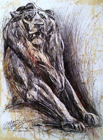 Lion (d'après Bartholdi)