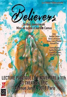 """Pièce de théâtre """"Believers"""" (Reporté)"""