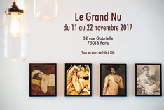 """Exposition """"Le Grand Nu"""""""