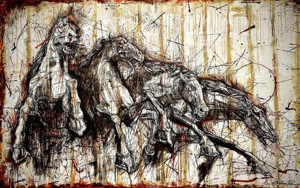 Les chevaux de l'apocalypse