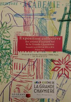 Exposition des artistes d'aujourd'hui de la Grande Chaumière