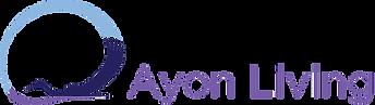 Ayon Living Logo 3C Horizontal (Gotham)
