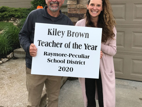 Teacher/Support Staff Employee of the Year 2020