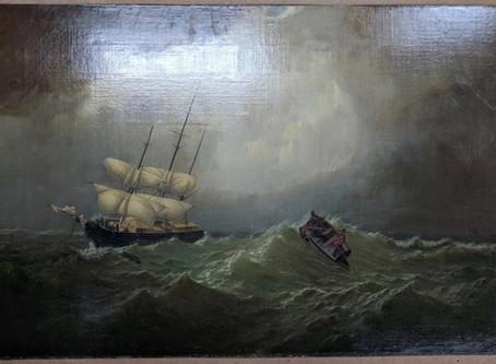 Painted Seascape | William Bradford