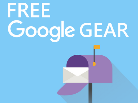 Free Google Gear!