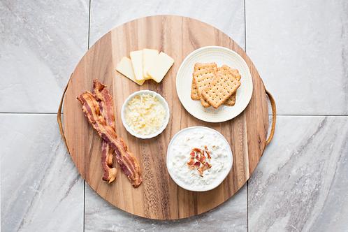 Cheesy Bacon