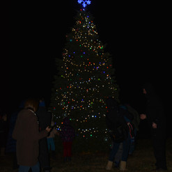 NCH photo/Allen Edmonds Belton Mayor's Christmas Tree Lighting, 12/3/2018