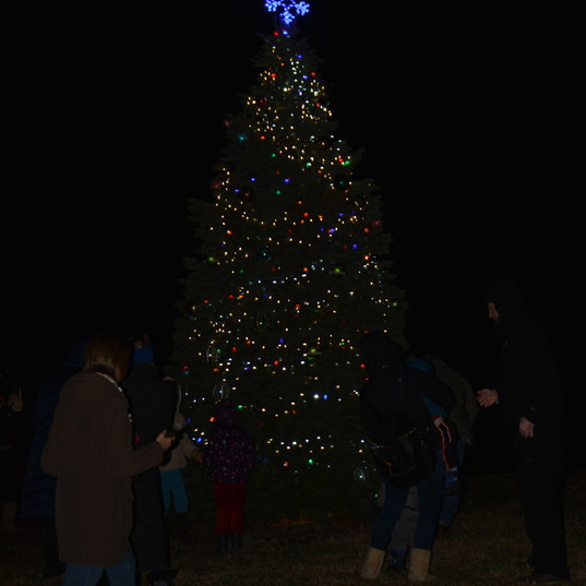 NCH photo/Allen Edmonds Belton Mayor's Christmas Tree Lighting, 12/3/2018