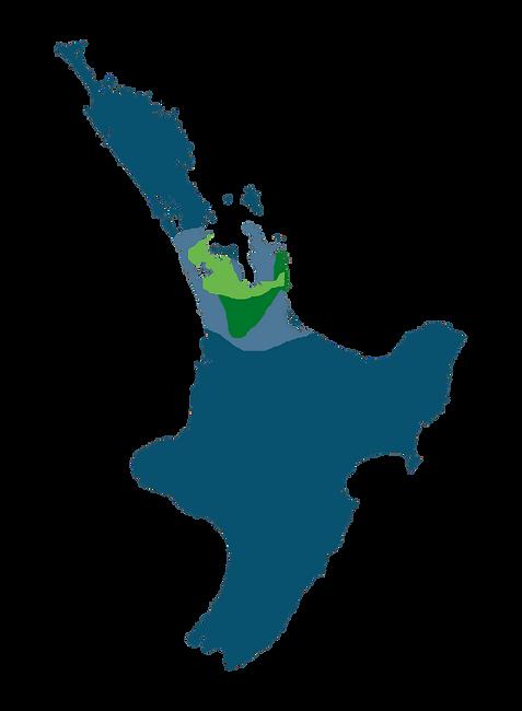 North Island Map Service Area Guide copy