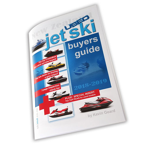 NZ Used Jet Ski Buyers Guide 2019 (PRINTED)