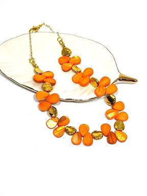 Fiery Orange Necklace