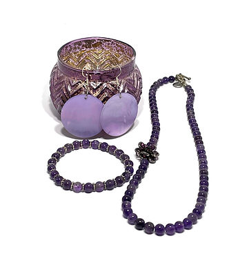 Amethyst Jewelry Set