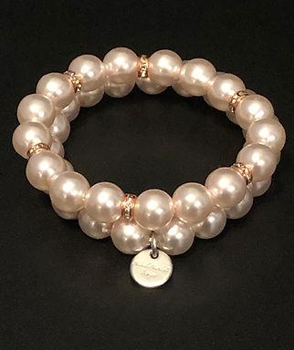 Millennial Pink Stretch Bracelet Set