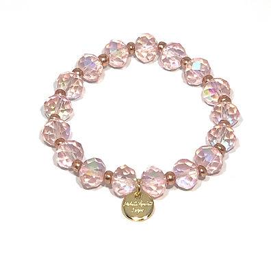 Pink Shimmer Bracelet - Stretch