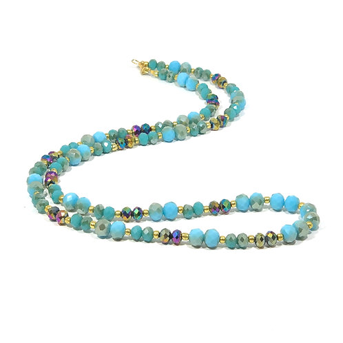 Island Oasis Turquoise Necklace