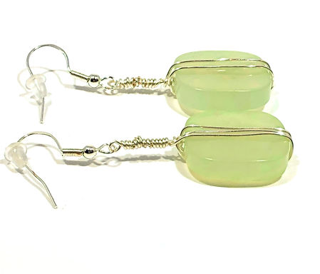 Light Lime Earrings