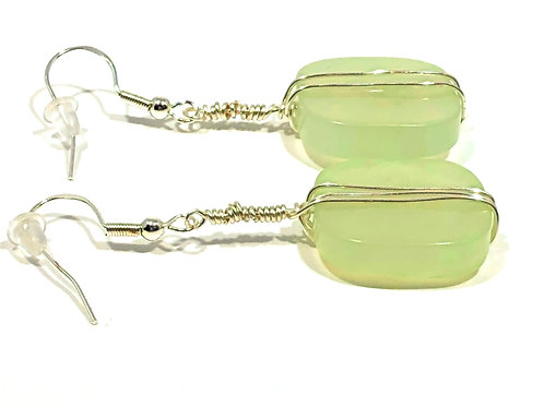Light Lime Earrings