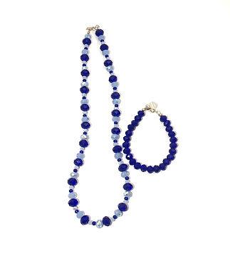 Blue Sky Necklace and Bracelet