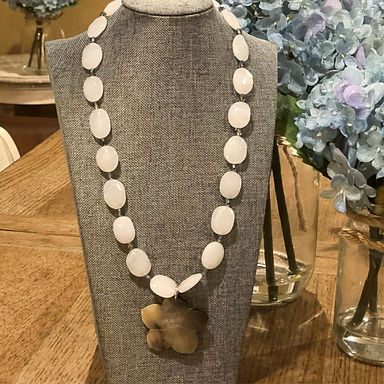 Simply Beautiful Flower Necklace
