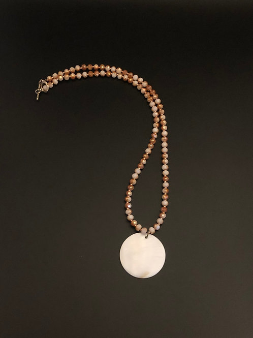 Sand and Shell Necklace