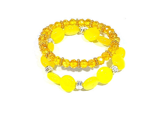 Kid's Yellow Shimmer