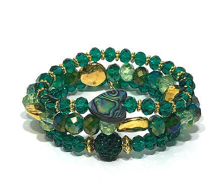 Emerald Green Stack