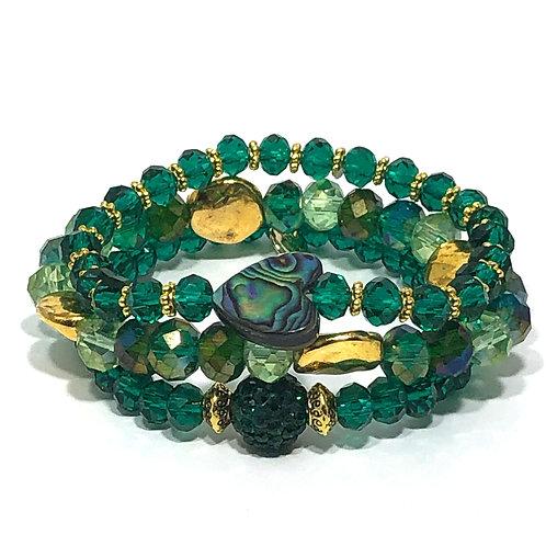Emerald Green Stack