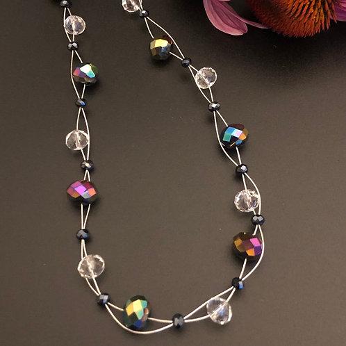 Shimmer Floating Necklace