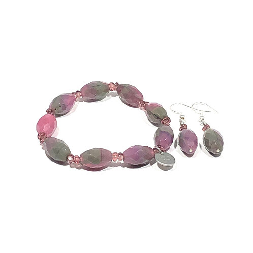 Mulberry Bracelet and Earrings