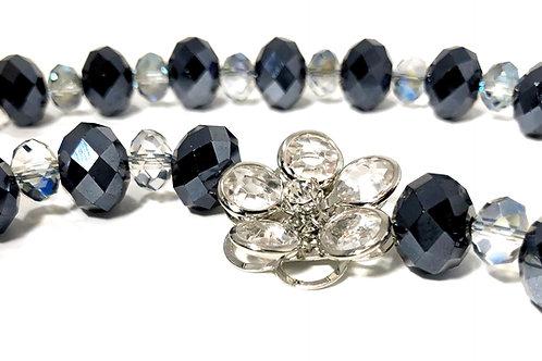 Czech Crystal Shimmery Necklace