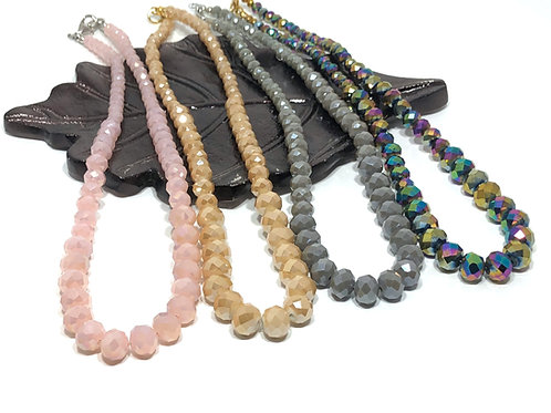 Shimmery Necklace Collection
