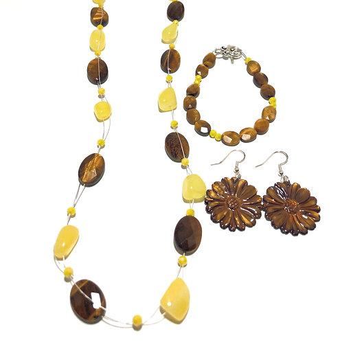 Sunflower Kissed Jewelry Set