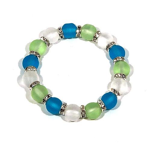 Kid's Sea Glass Bracelet