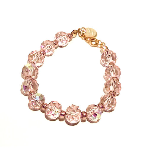Pink Shimmer Bracelet - Clasp