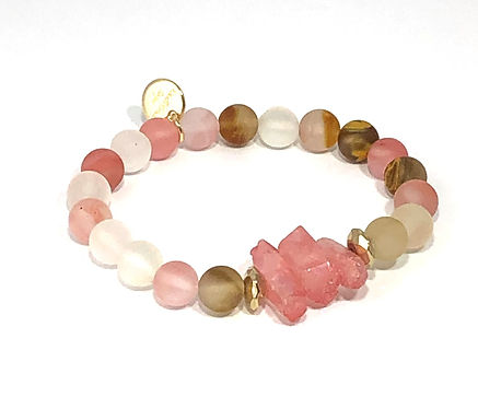 Cherry Quartz Bracelet