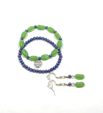 Kid's Bracelet and Earring Set