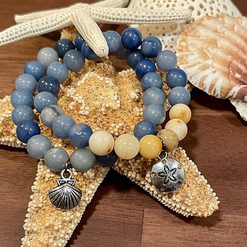Land and Sea Stretch Bracelet Set
