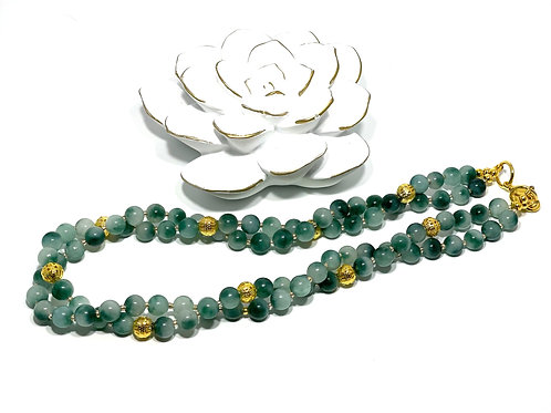 Teal Jade Necklace