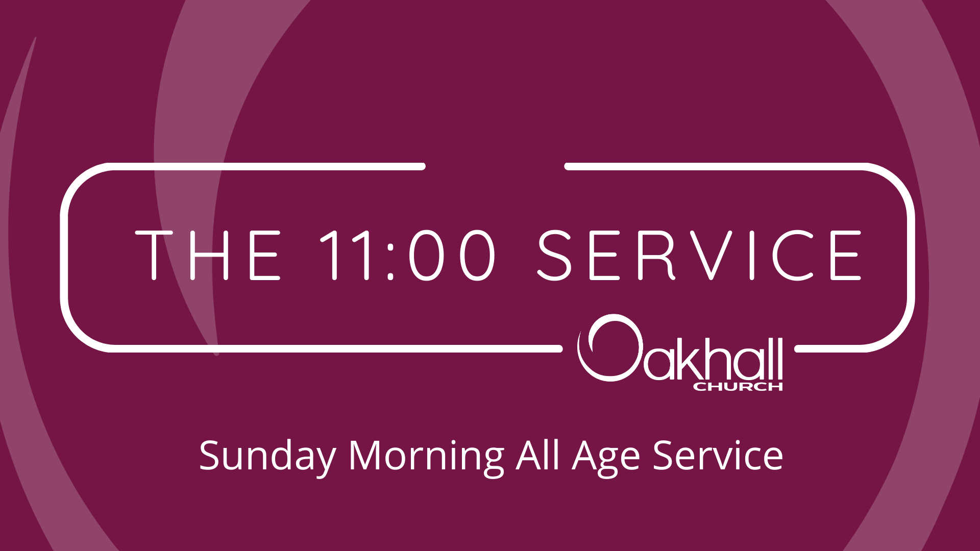 The 11:00 Service