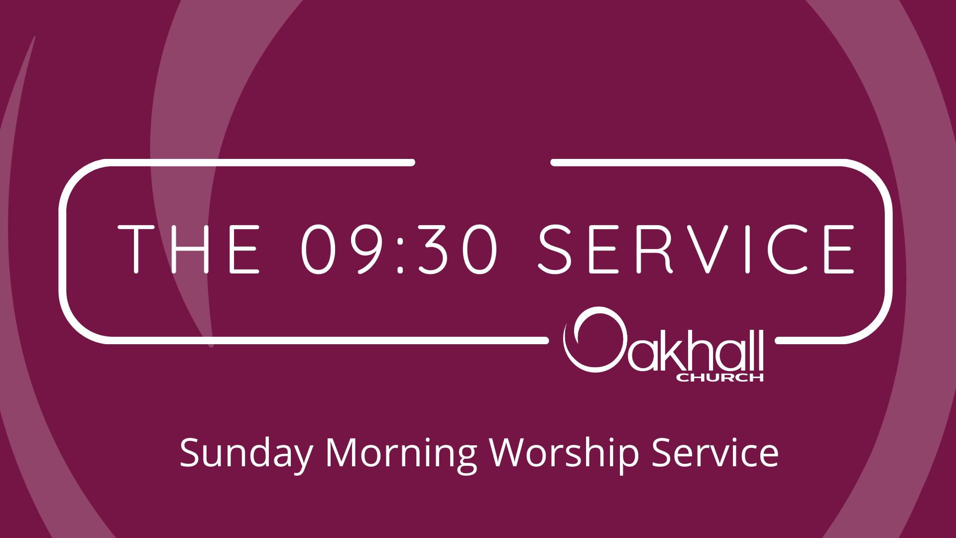 The 09:30 Service