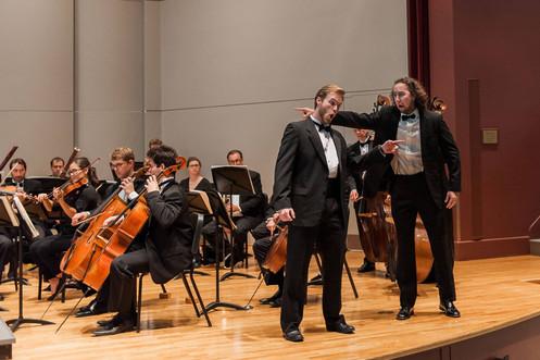 Leporello/Don Giovanni Commendatore Scene/ Des Moines Metro Opera