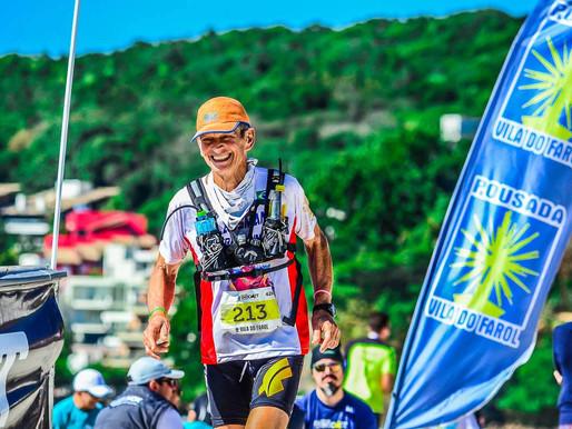 Aos 70 anos, Juarez Plassman estreia nos 100 km na INDOMIT Costa Esmeralda