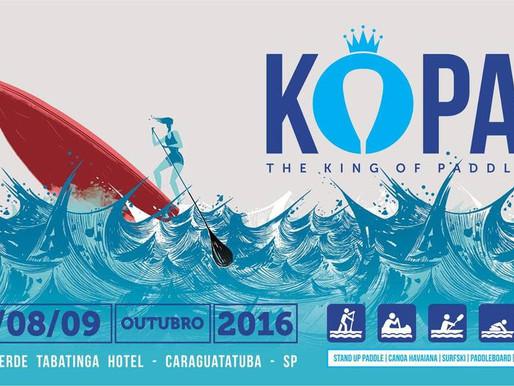 Sol, calor e muita animação marcam 1ª edição do KOPA – The King of Paddle