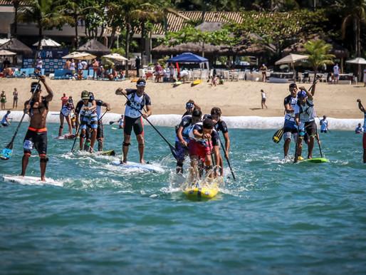 The King of Paddle chega a São Sebastião como um festival de esportes a remo