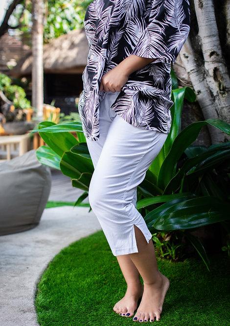 Women Resort Wear Lifestyle Pants 2020 - P3153 White