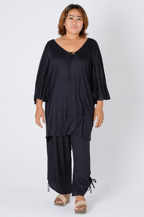 T11464 - Plain Black - Jersey