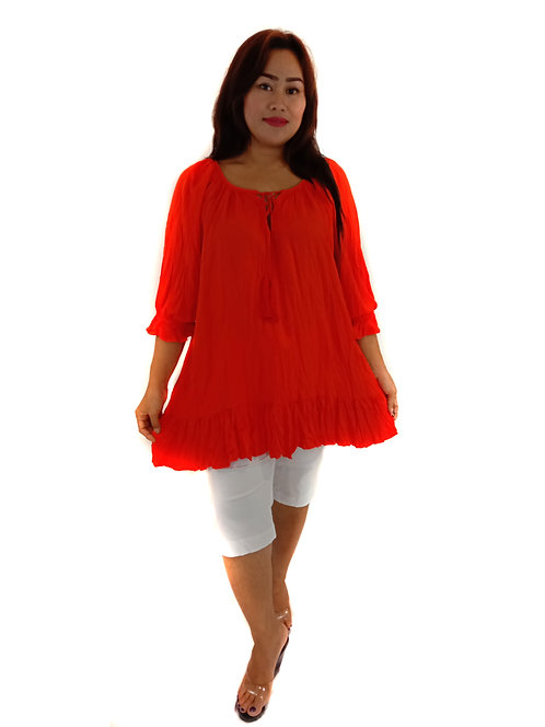 Women Resort Wear Clothing 2020 - T11231 Orange