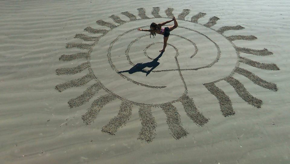Galveston Beach Yoga