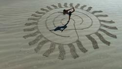 Galveston Beach Yoga