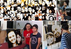Face To Face Pop Art Portraits